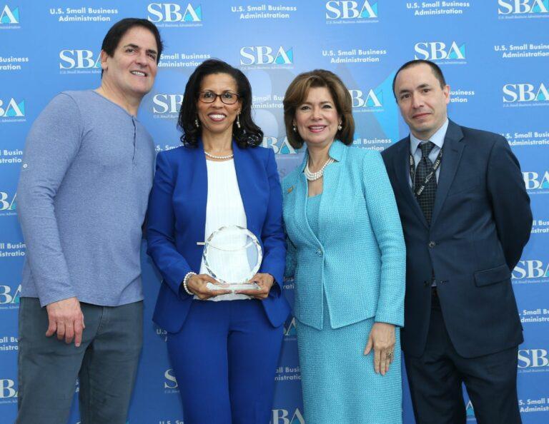AFM Receiving Award